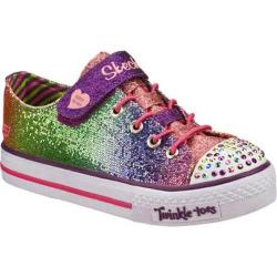 Girls' Skechers Twinkle Toes Shuffles Sparkle Kiss Multi