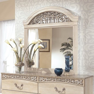 Signature Design by Ashley Catalina Champagne Bedroom Mirror
