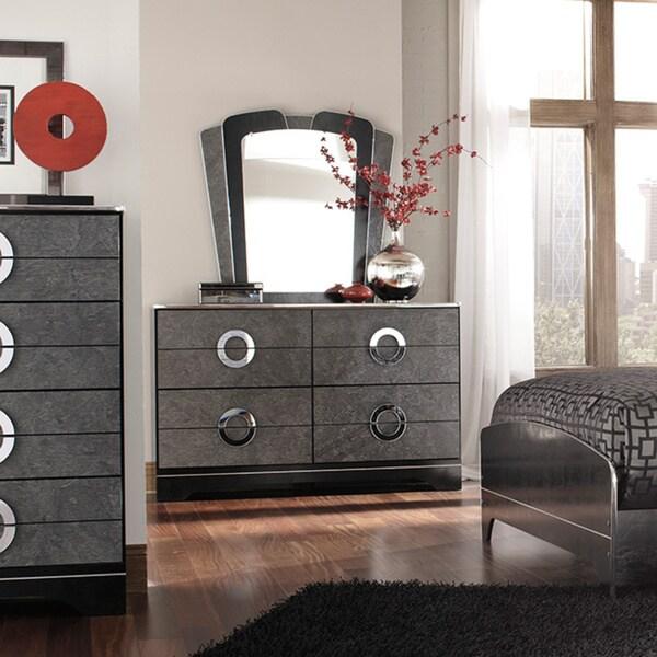 Signature Design by Ashley Bonnadeen Black Dresser