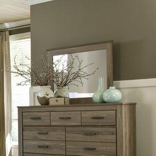 Signature Design by Ashley Zelen Grey Bedroom Mirror