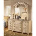 Signature Designs by Ashley 'Saveaha' Light Beige 9-drawer Dresser