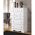 Signature Designs by Ashley Weeki White 5-drawer Chest