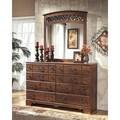 Signature Designs by Ashley Timberline Warm Brown 8-drawer Dresser