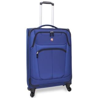 Wenger NeoLite Plus Blue 24-inch Medium Spinner Upright Suitcase