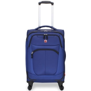 Wenger NeoLite Plus Blue 20-inch Carry-on Spinner Upright