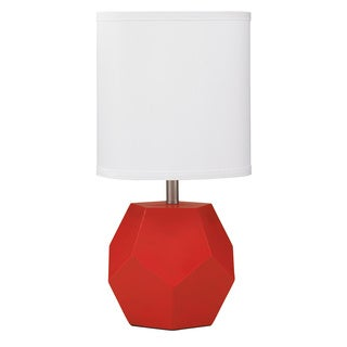 Signature Designs by Ashley Red Rizpah Polyester Table Lamp