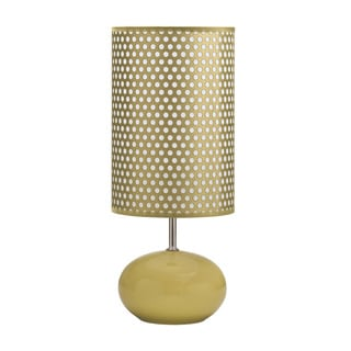Signature Designs by Ashley Roni Polka Dotted Ceramic Table Lamp