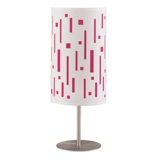 Signature Designs by Ashley Puji Pink Modern Table Lamp