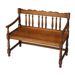 Cherry Balustrade Bench