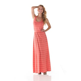 Women's Flamingo Tie-dye Maxi Dress