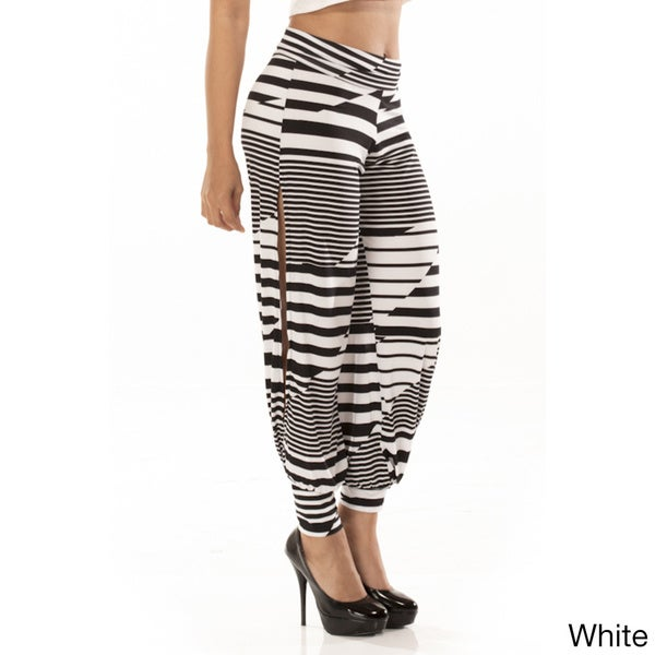 Women's Zigzag Harem Pants