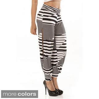 Women's Zigzag Harem Pants