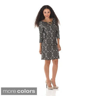Women's Lacey Jane 3/4-sleeve Dress