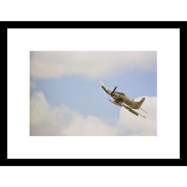 W.E. Garrett 'Military Aircraft' Framed Photo