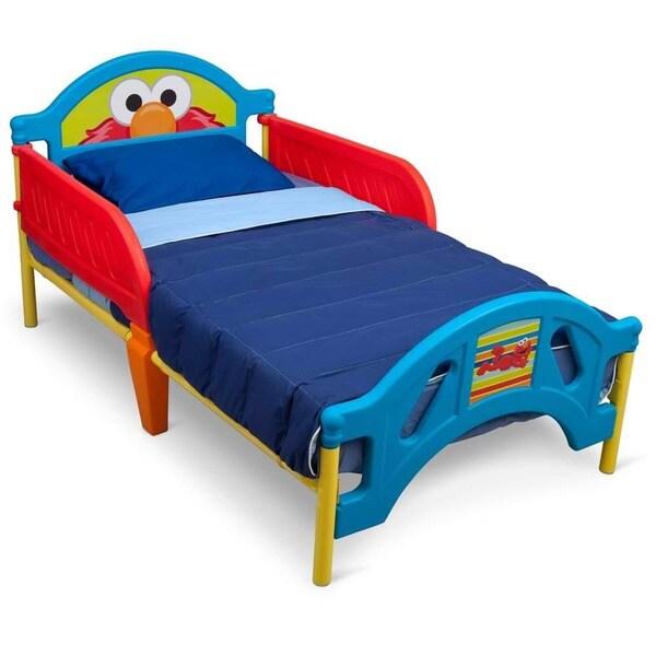 Delta Sesame Street Plastic Toddler Bed