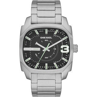 Diesel Men's DZ1651 Shifter Black Dial Stainless Steel Watch