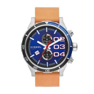 Diesel Men's DZ4322 Double Down 48 Blue Dial Watch