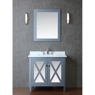 "Summit 36"" Single-sink Bathroom Vanity Set"