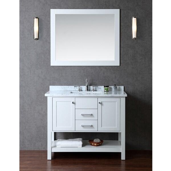 Bayhill 42quot; Singlesink Bathroom Vanity Set  16344488  Overstock.com