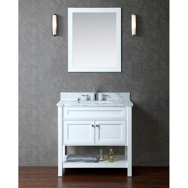 Mayfield 36 single sink bathroom vanity set 16344489 for Overstock com vanities