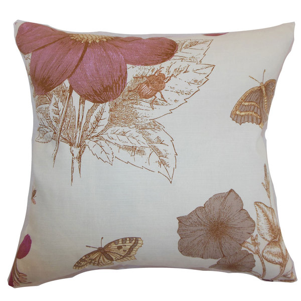 Mareeba Lavender Down Filled Throw Pillow