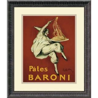 Leonetto Cappiello 'Pates Baroni (ca. 1921)' Framed Art Print 16 x 19-inch