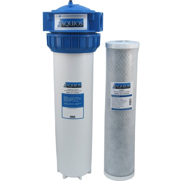 Aquios FS-234 Jumbo Salt Free Water Softener and Filtration System