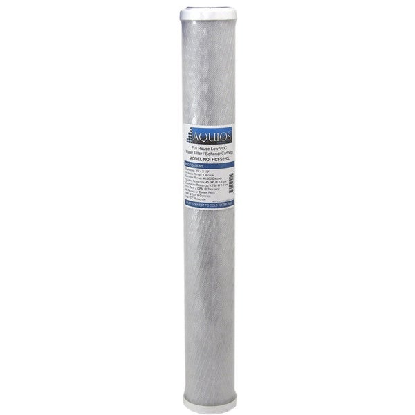 Aquios RCFS220L Water Softener/Filter Replacement Cartridge with VOC Reduction