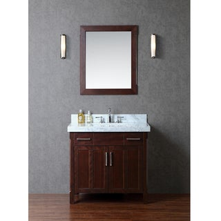 "Redford 36"" Single-sink Bathroom Vanity Set"