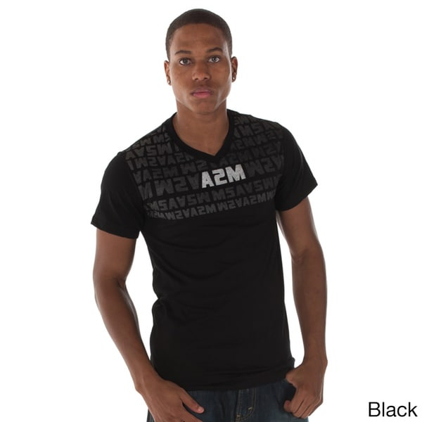 A2MUSA Men's Classic V-neck T-shirt