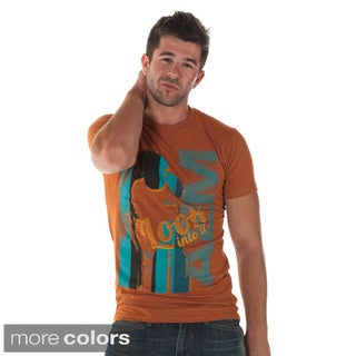 A2MUSA Men's 'Look Into It' Graphic T-shirt
