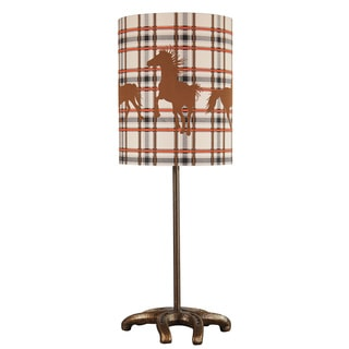 Signature Designs by Ashley Siddie Horse Motif Ceramic Table Lamp