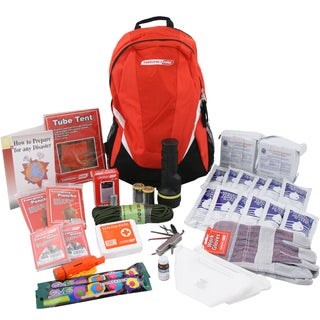 Emergency Zone 2-person Bug-out Bag 72 Hour Deluxe Emergency Survival Kit