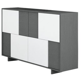 Rio White/ Gray Oak Dining Buffet