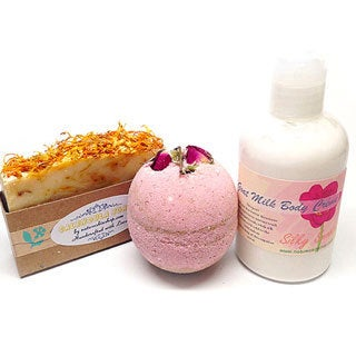 Milky Bath 3-piece Spa Gift Set
