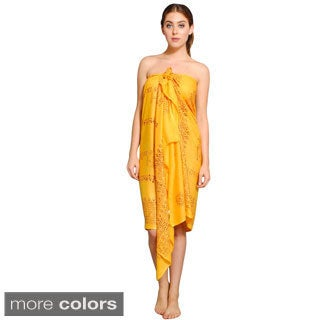 Hand-crafted Women's Rasta Flair Sarong (India)