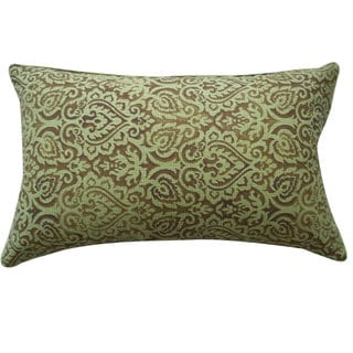 Jiti Jaipur Green Throw Pillow