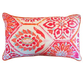 Palermo Red Throw Pillow