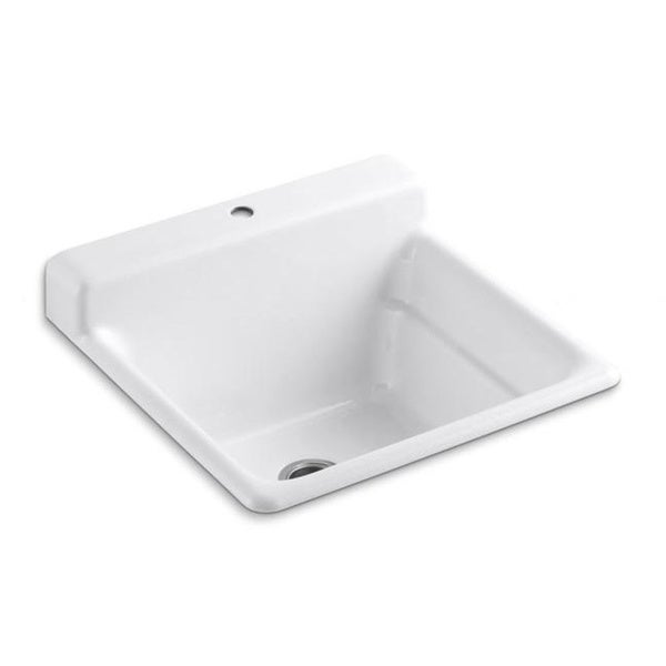 Kohler Bayview Cast Iron Self-rimming Utility Sink
