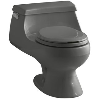 Kohler Rialto French Curve Seat Thunder Grey Toilet
