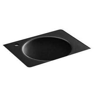 Kohler Tandem Black Black Under-mount Utility Sink
