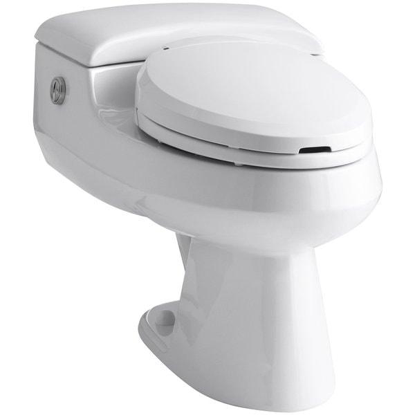 Kohler San Raphael White Comfort Height Power Lite