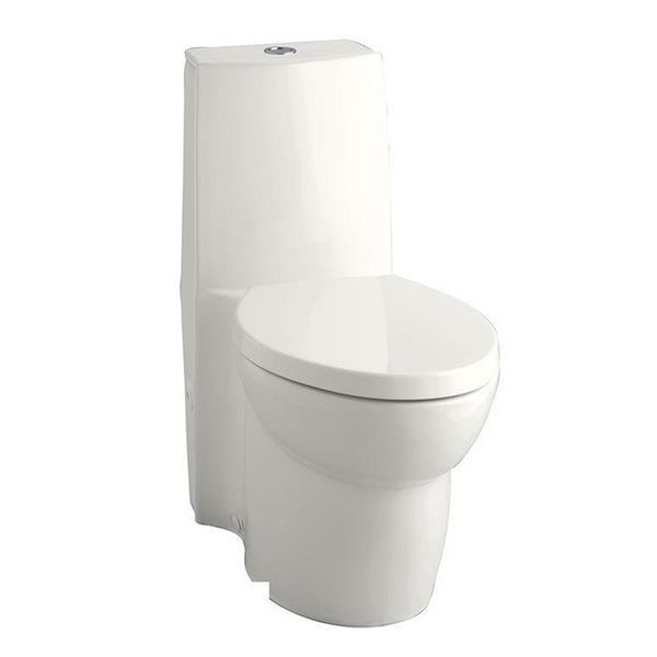 Kohler Saile White Dual Flush High Efficiency Elongated Toilet