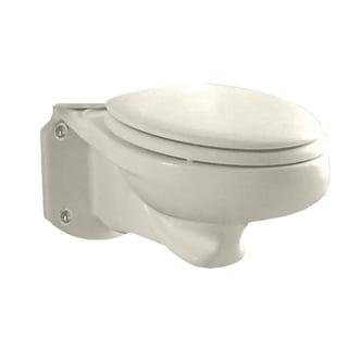 American Standard Glenwall Linen Elongated Pressure Assist Toilet Bowl