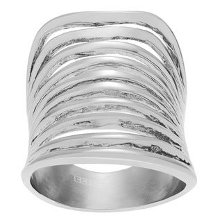 Tressa Collection Stainless Steel Ring
