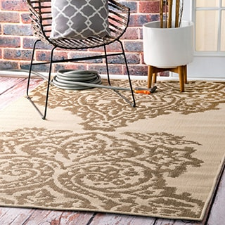 nuLOOM Indoor/ Outdoor Aperto Porch Rug (5' x 8')