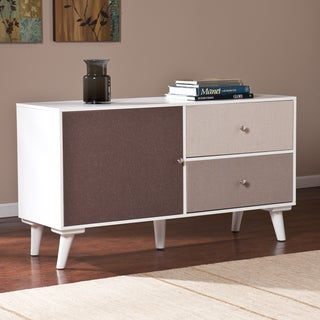 Upton Home Linen Colorblock Anywhere Storage Cabinet/Console