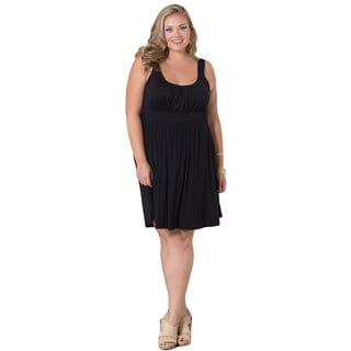 Sealed With A Kiss Women's Perfect Tank Dress in Black