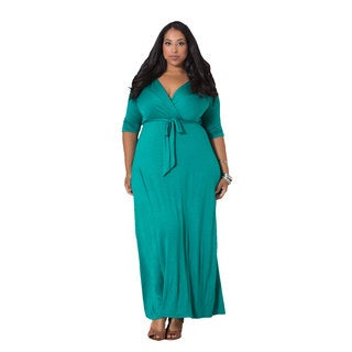 Sealed With a Kiss Women's Plus Darla Maxi Dress