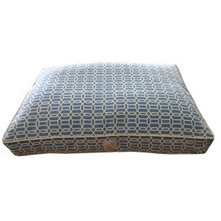 Mosaic Blue Chill Pet Bed